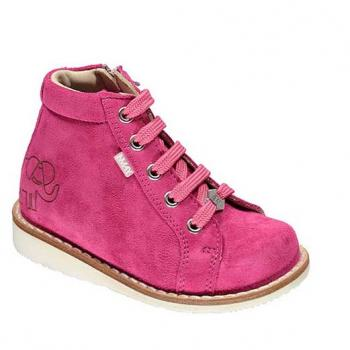 Tommy  - P496 Fuchsia Suede Lace