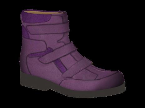 L122/3 Violet Aniline Velcro