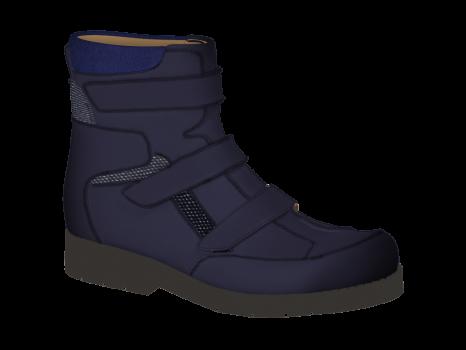 R1603 Dark Blue Aniline Velcro