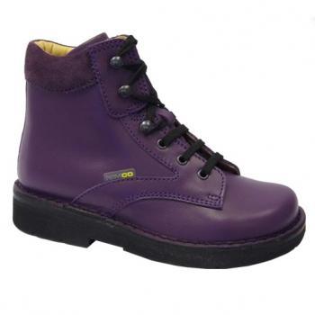 L122 Violet Leather Lace