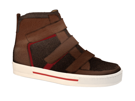 R555/3 Caramel Wax Leather Combi Velcro