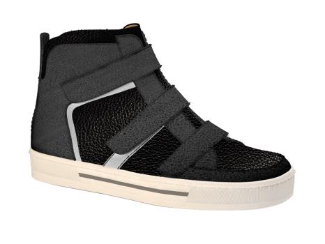 J846/2 Black Atlas Combi Velcro