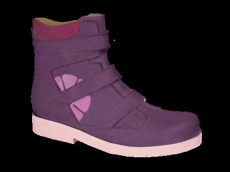 L122/2 Violet Aniline Velcro