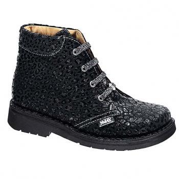 Dakota  - Y1508 Black Calvin Leather Lace