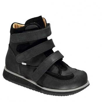 Spike  - R552/1 Black Wax Leather Velcro