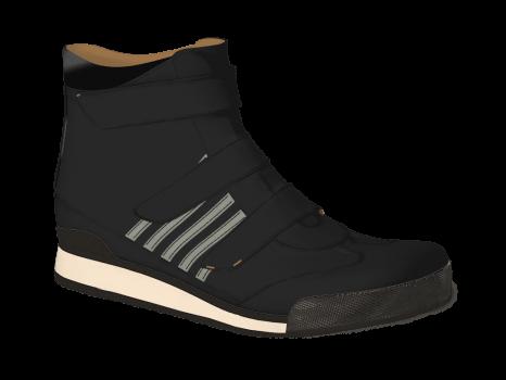 R502/5 Black Aniline Velcro