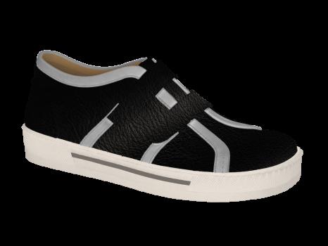 L1672/3 Black Aniline Velcro