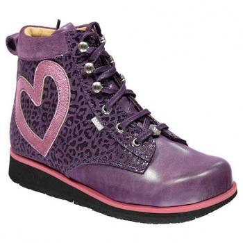 L122 Violet Aniline Fantasy Lace
