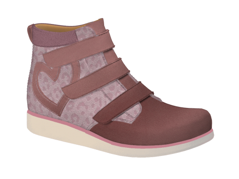 N325 Old Rose Nubuck Fantasy Velcro (Alternative)