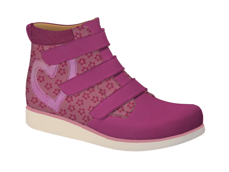 N1626 Fuchsia Nubuck Fantasy Velcro (Alternative)