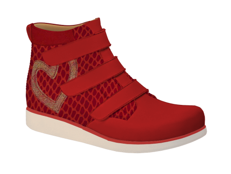 R506 Scarlet Aniline Fantasy Velcro