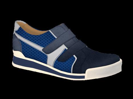 V1430/5 Jeans Aniline Combi Velcro