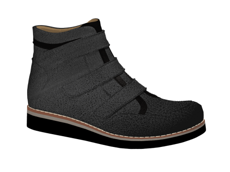 J846/1 Black Atlas Velcro