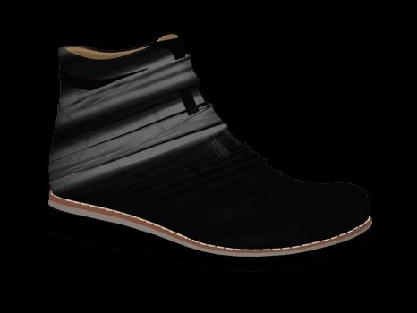 S602/1 Black Patent Velcro