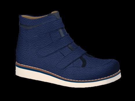 M1503/3 Jeans Full Grain Aniline Velcro