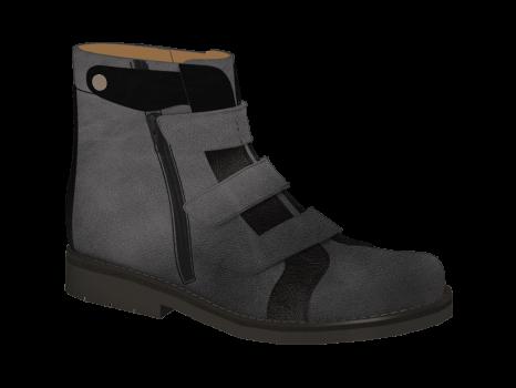 V1667/3 Stone Aniline Combi Velcro