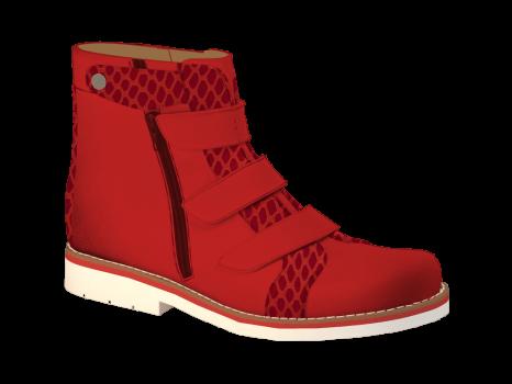 R506/5 Ruby Aniline Combi Velcro