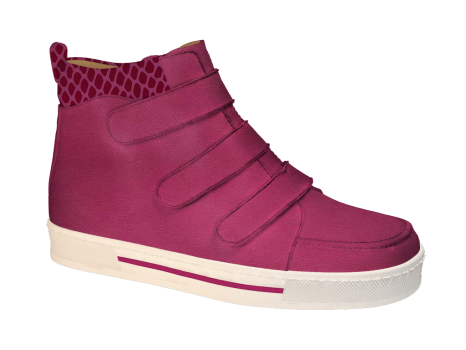 R577/4 Fuchsia Wax Leather Velcro