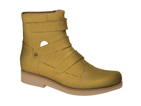 WP591 Ocher Waterproof Leather Velcro