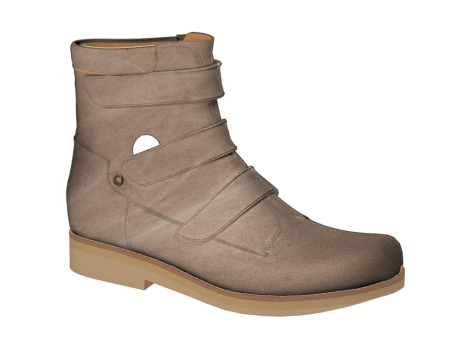 WP590 Khaki Waterproof Leather Velcro