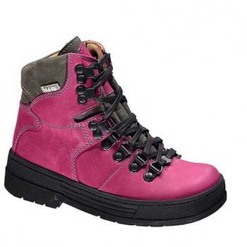 WP595/1 Fuchsia Waterproof Leather Lace