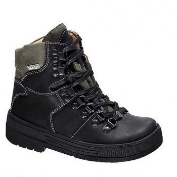 Berg  - WP592 Black Waterproof Leather Lace