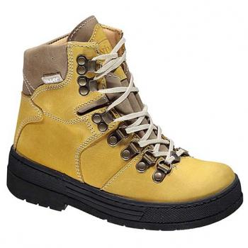 WP591/2 Ocher Waterproof Leather Lace