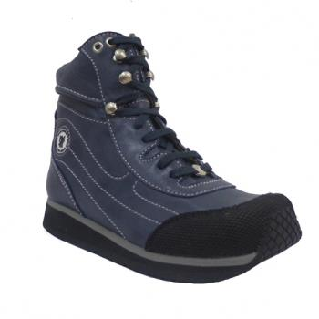 Touchdown  - V1420/3 Navy Aniline Lace