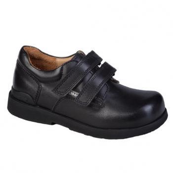 Josh velcro - L1602/1 Black Leather