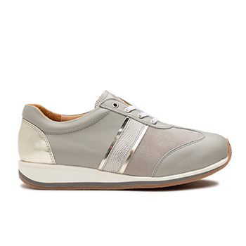 Dionisia  - L1630 Light Grey Fantasy Leather Combi