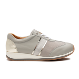 L1630 Light Grey Fantasy Leather Combi