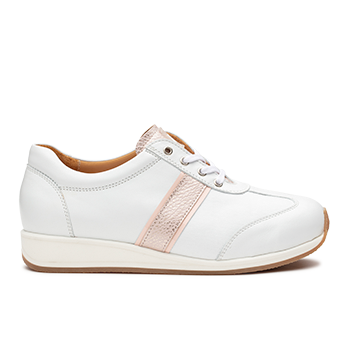 Dionisia  - L1601/4 White/pink Leather