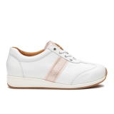 L1601/4 White/pink Leather