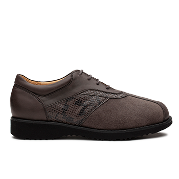 Maggy  - V1892/1 Carbon Fantasy Leather Combi