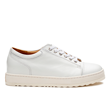 Kemberly  - L1601/3 White Leather