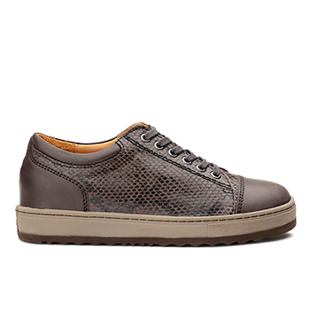 Kemberly  - V1892/10 Carbon Fantasy Leather Combi