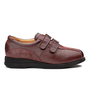 Polish  - L1605 Burgundy Fantasy Leather Combi