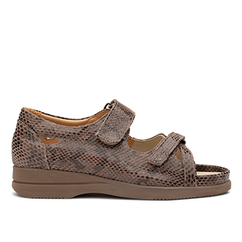 Theresa - S1828 Lizzard Petra Leather