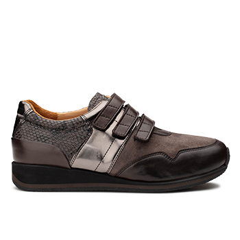 Penny  - V1892/7 Carbon Fantasy Leather Combi