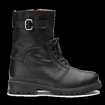 Olivia  - L1602/9 Black Leather
