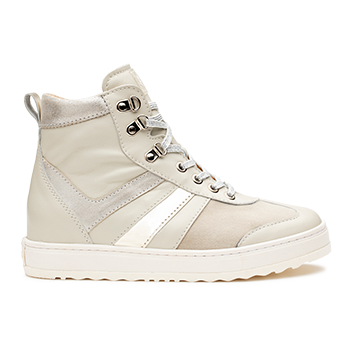 Annabel  - L1680/1 Off-white Fantasy Leather Combi