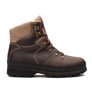 Mountain Woman  - WP594 Brown Waterproof Wax Leather