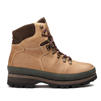 Mountain Woman  - WP590 Khaki Waterproof Wax Leather