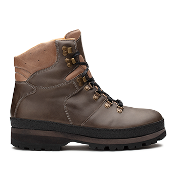 Mountain Woman  - WP596 Grey Waterproof Wax Leather
