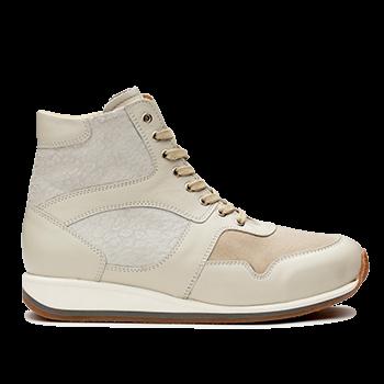 Mia  - L1680 0ff-white Fantasy Leather Combi