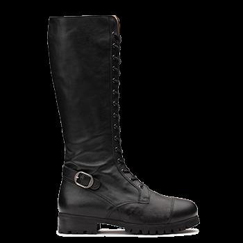 Isalyne  - L1602/8 Black Leather