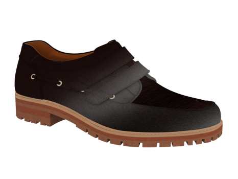 R1604 Dark Brown Leather