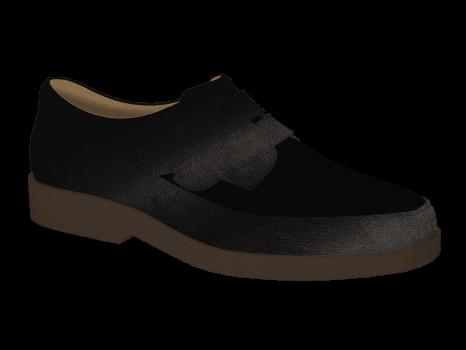 L1602/14 Black Leather
