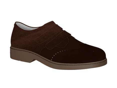 P404 Brown Suede