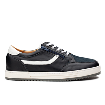 Walter  - L1803/2 Dark Blue Leather Combi